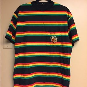 Rastafarian urban outfitters stussy men's tee